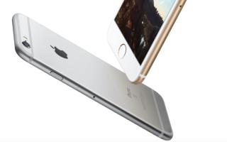 Реальные размеры iPhone 6s, что еще важно?