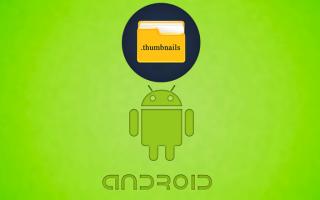 Что хранится в папке android data. Избавляемся от папки Thumbnails, которая засоряет память Android