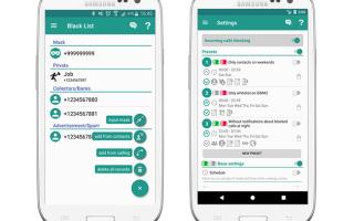 Лучшие приложения для ведения черного списка для ОС Андроид