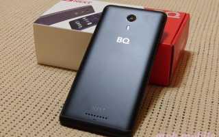 Смартфон BQ 5522 Next цвет серый характеристики