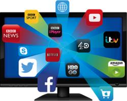 Как скачать приложения на Smart TV?