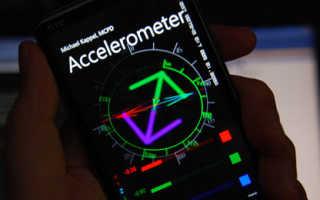Акселерометр в смартфоне — что это и зачем нужно?