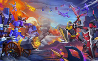Скачать Epic Battle Simulator 2 на андроид v.1.4.40