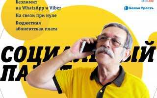 Билайн в Волгограде запустил «Социальный пакет» за 99 рублей для пенсионеров, студентов и других льготников