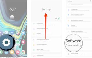 Обновление Samsung и новая версия Android