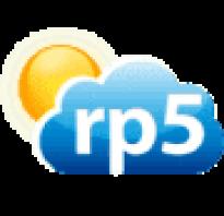 РП5 (Расписание Погоды) 1.58 для Андроид