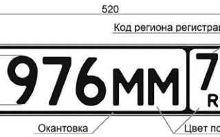 Коды регионов наавтомобильных номерах в2020году